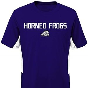 6a800b9cdbfe Outerstuff. TCU Horned Frogs Youth Performance Tee ...
